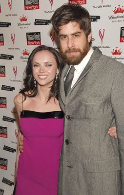 Christina Ricci and Adam Goldberg at the New York premiere of Paramount Vantage' Black Snake Moan