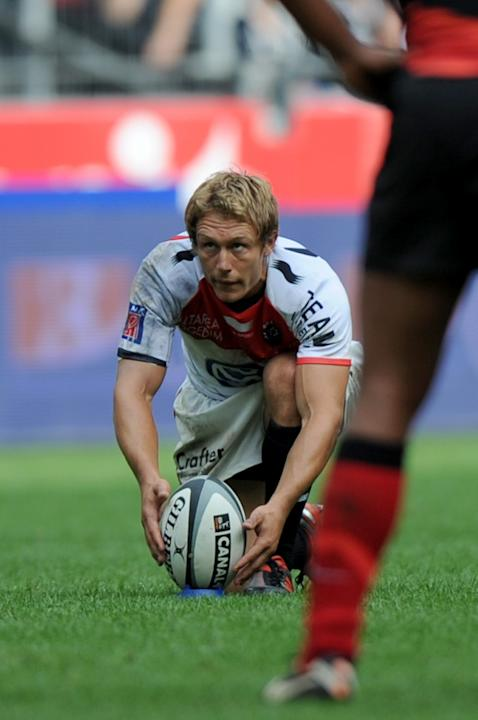 Toulon's British fly-half Jonny Wilkinso