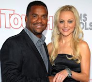 Alfonso Ribeiro and Angela Unkrich attend In Touch Weekly&#39;s 5th Annual 2012 Icons + Idols at Chateau Marmont on September 6, 2012 -- Getty Images