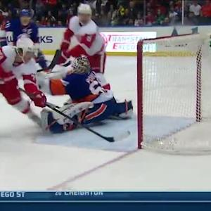 Darren Helm scores a beauty on Kevin Poulin
