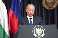 Russian President Vladimir Putin said that Iran should be invited to an international meeting on the Syria conflict in Geneva at the weekend