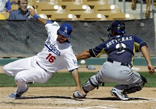 Ethier's 2-run homer, 3 RBIs lead Dodgers