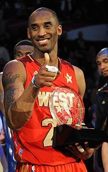 Kobe commands All-Star stage again