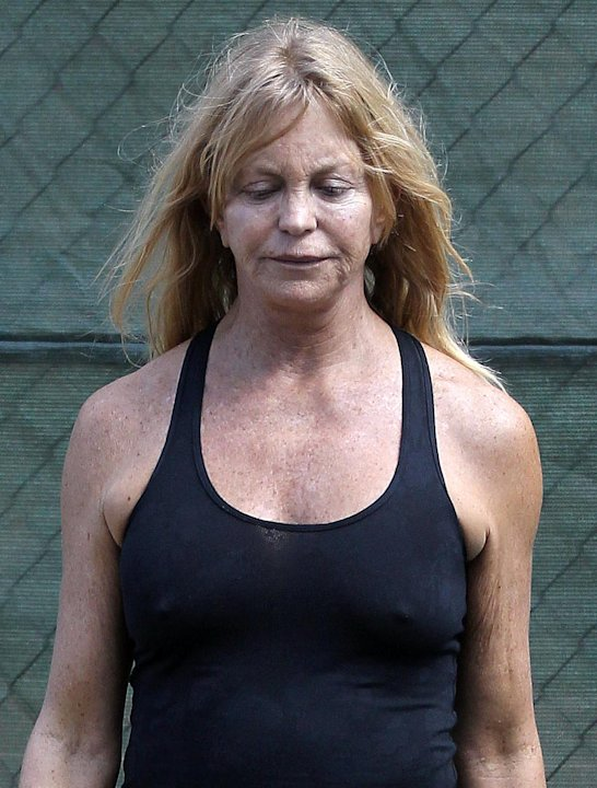 Irreconocible: as luce Goldie Hawn sin maquillaje