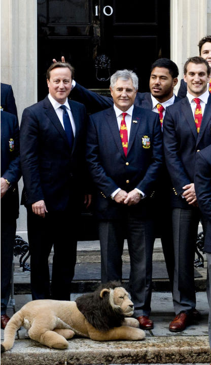 Rugby Union - David Cameron and Manu Tuilagi File Photo
