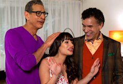 Lea Michele, Jeff Goldblum, Brian Stokes Mitchell | Photo Credits: Adam Rose/FOX