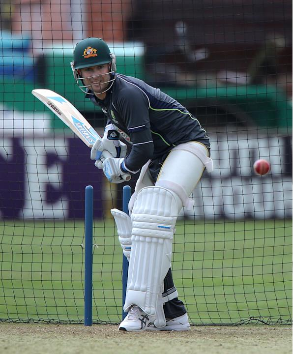 Cricket - Tour Match - Somerset v Australia - Australia Nets - Taunton