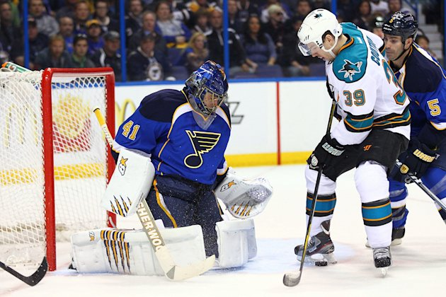 San Jose Sharks v St. Louis Blues - Game One