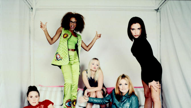 The Spice Girls IN NYC