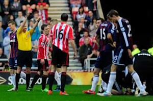Sunderland 1-1 Stoke: Point keeps 10-man Black Cats in thick of relegation scrap