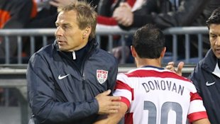 Jurgen Klinsmann could use Landon Donovan's skills in the U.S. midfield. (MLS)