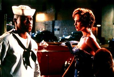 Cuba Gooding Jr. and Charlize Theron in 20th Century Fox's Men of Honor