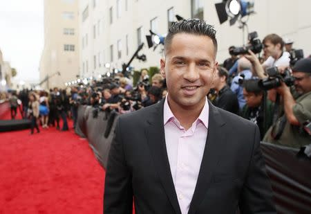 File photo of television personality Mike Sorrentino arriving at the 2013 MTV Movie Awards in Culver City