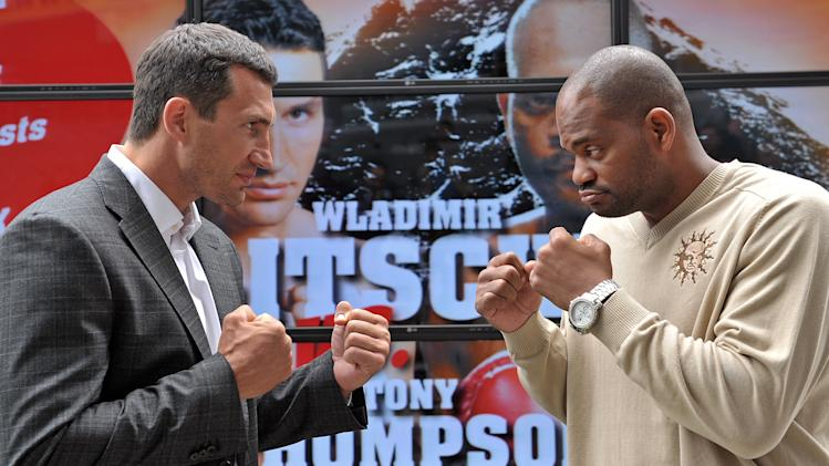 Wladimir Klitschko v Tony Thompson - Press Conference