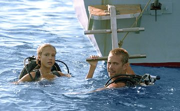 Jessica Alba and Paul Walker in MGM/Columbia Pictures' Into the Blue