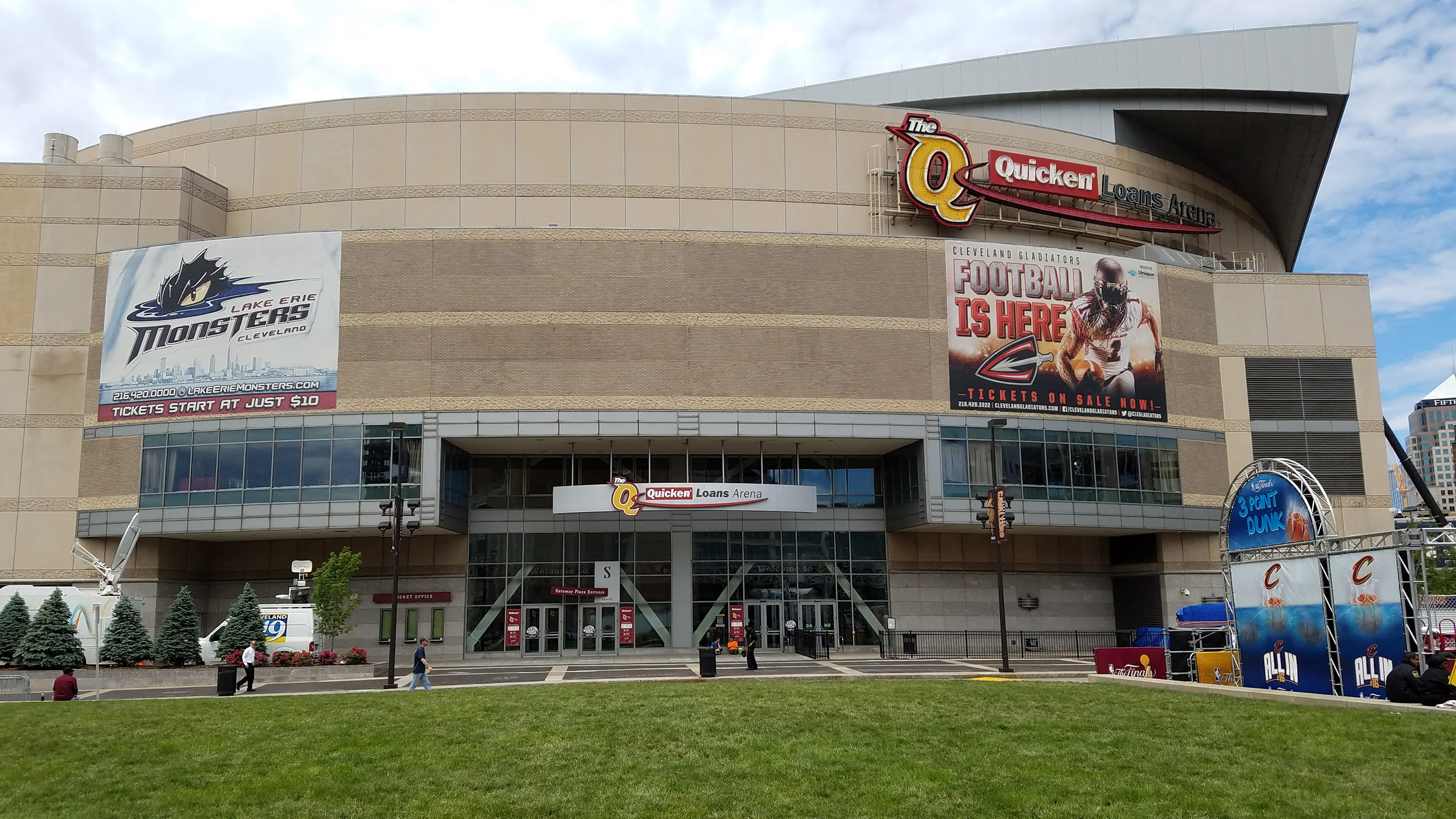 Verizon has upgraded their wireless network in and around Cleveland's Quicken Loan Arena ahead of the Republican National Convention in July.