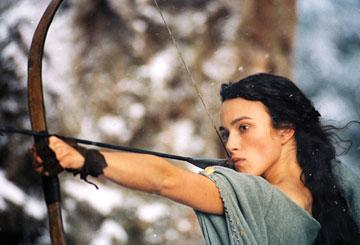 Keira Knightley as Guinevere in Touchstone Pictures' King Arthur