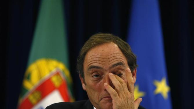 Portugal's Deputy Prime Minister Portas attends a news conference in Lisbon