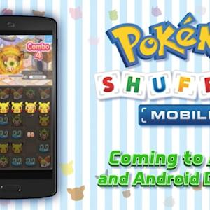 Pokemon Shuffle Mobile - Test Your Puzzle Skills Trailer