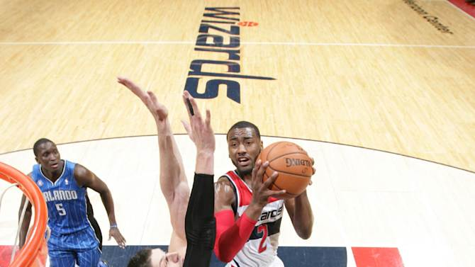 Wizards survive without Nene, beat Magic 115-106