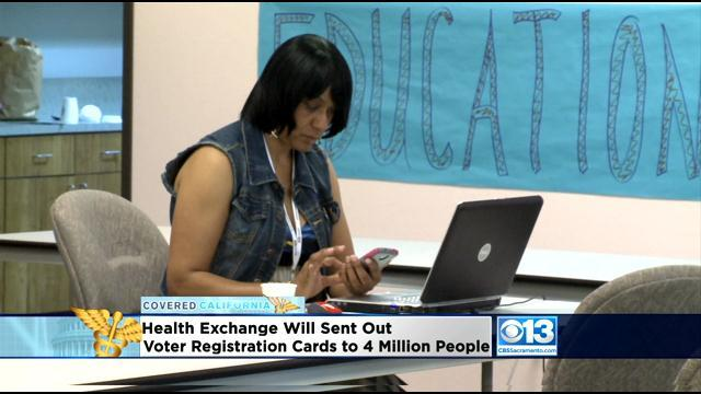 State Mails Voter Registration Cards To Covered California Enrollees