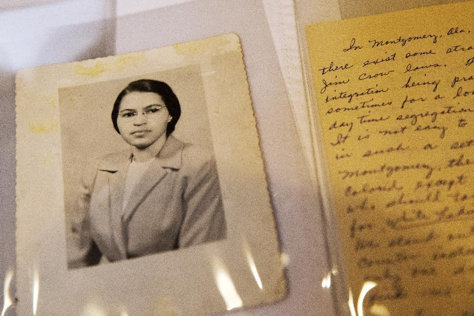 Rosa Parks family reflects on items at Library of Congress