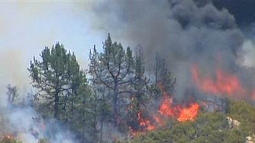 California Wildfires Double in Size