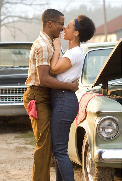 Nate Parker Alicia Keys The Secret Life of Bees Production Stills Fox Searchlight 2008