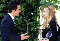 Nestor Carbonell and Sarah Michelle Gellar  | Photo Credits: Scott Alan Humbert/The CW