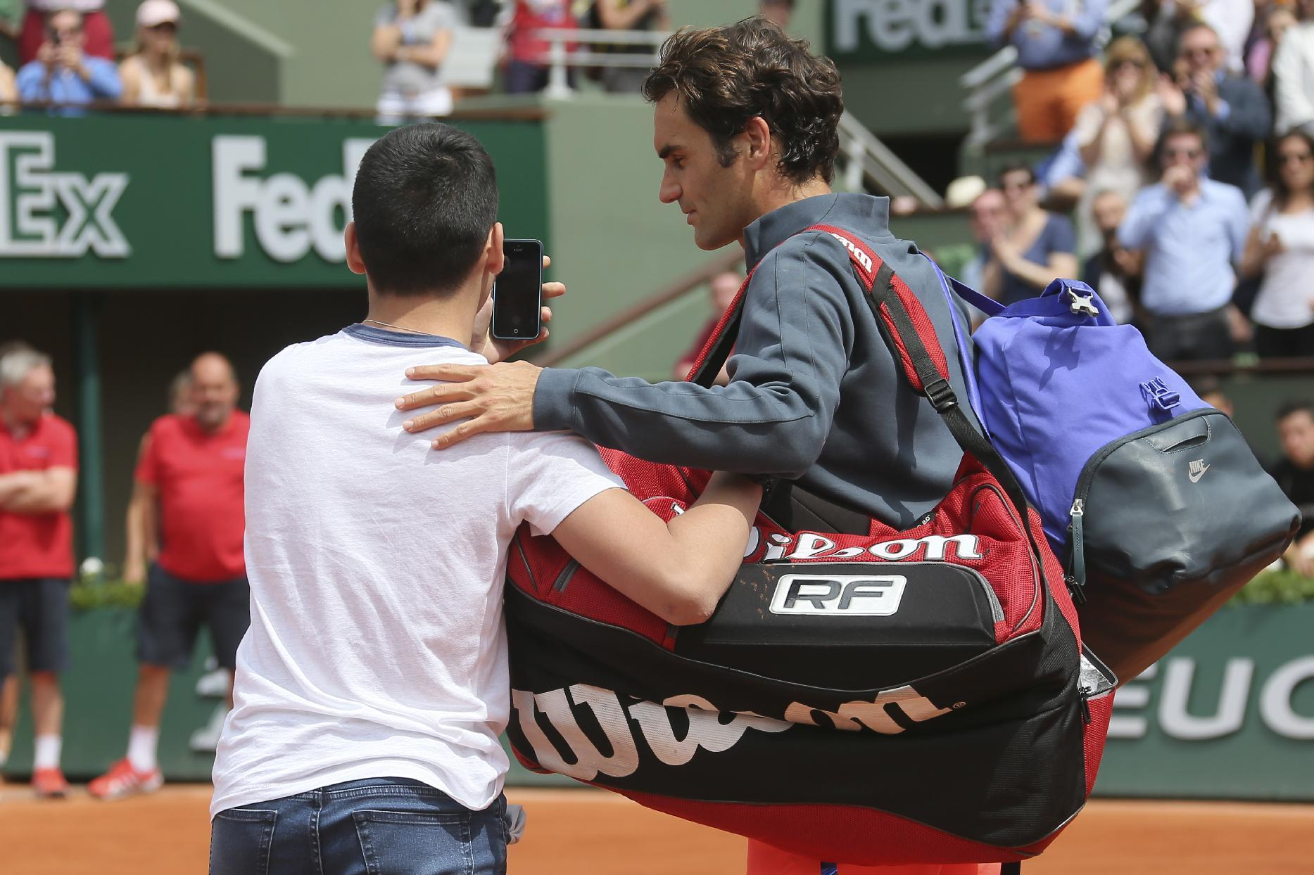 FRENCH OPEN LOOKAHEAD: Worth watching security for Federer