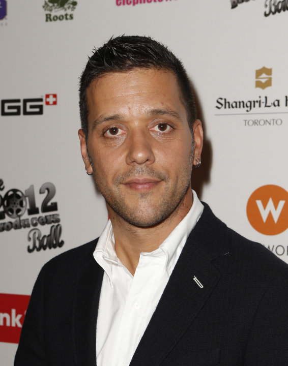 George Stroumboulopoulos attends the Producers Ball 2012 at the Shangri-La Toronto on Wednesday Sept. 5, 2012, in Toronto, Canada. (Photo by Todd Williamson/Invision for the Producers Ball/AP Images)