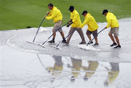 Orioles and Pirates rained out