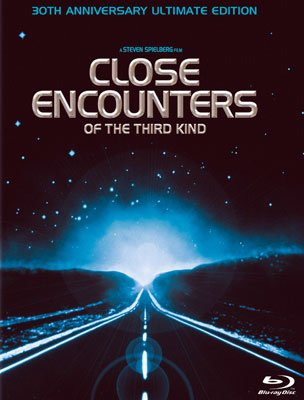 The box art from the 30th Anniversary Ultimate Edition Blu-ray release of Columbia Pictures' Close Encounters of the Third Kind