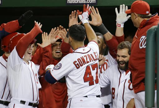 Gio Gonzalez homers as Nationals beat Marlins 3-0