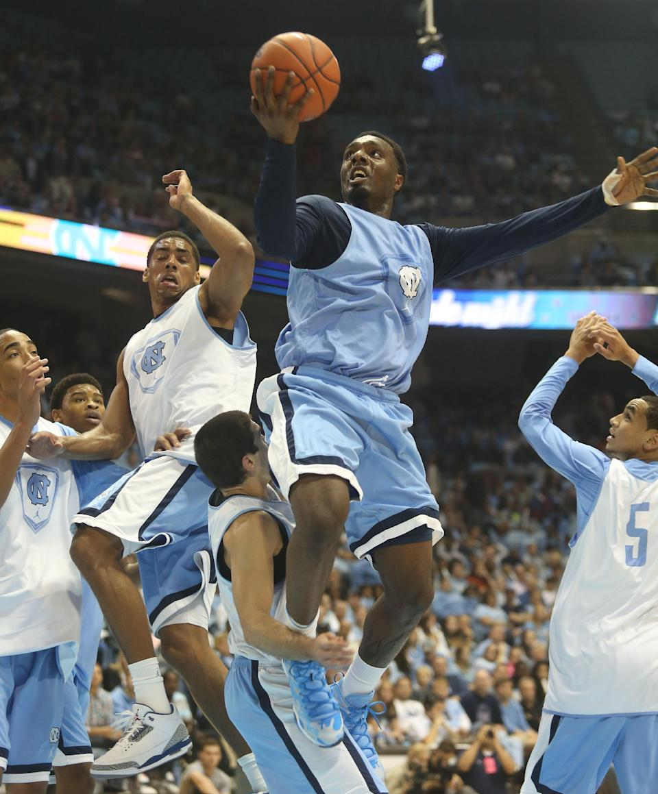 Williams, Tar Heels ready to go big again in 2014