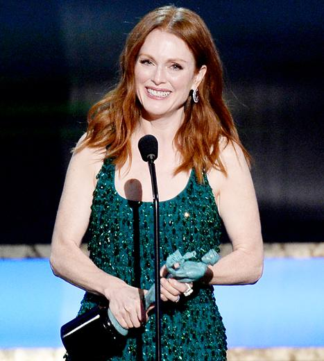 Julianne Moore Recalls Her Soap Star Beginnings in SAG Awards 2015 Speech: Then-and-Now Photos