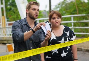 Mike Vogel and Jolene Purdy | Photo Credits: Kent Smith/CBS Broadcasting