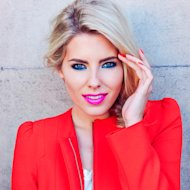 Mollie King hooks up with Maybelline for London Fashion Weekend