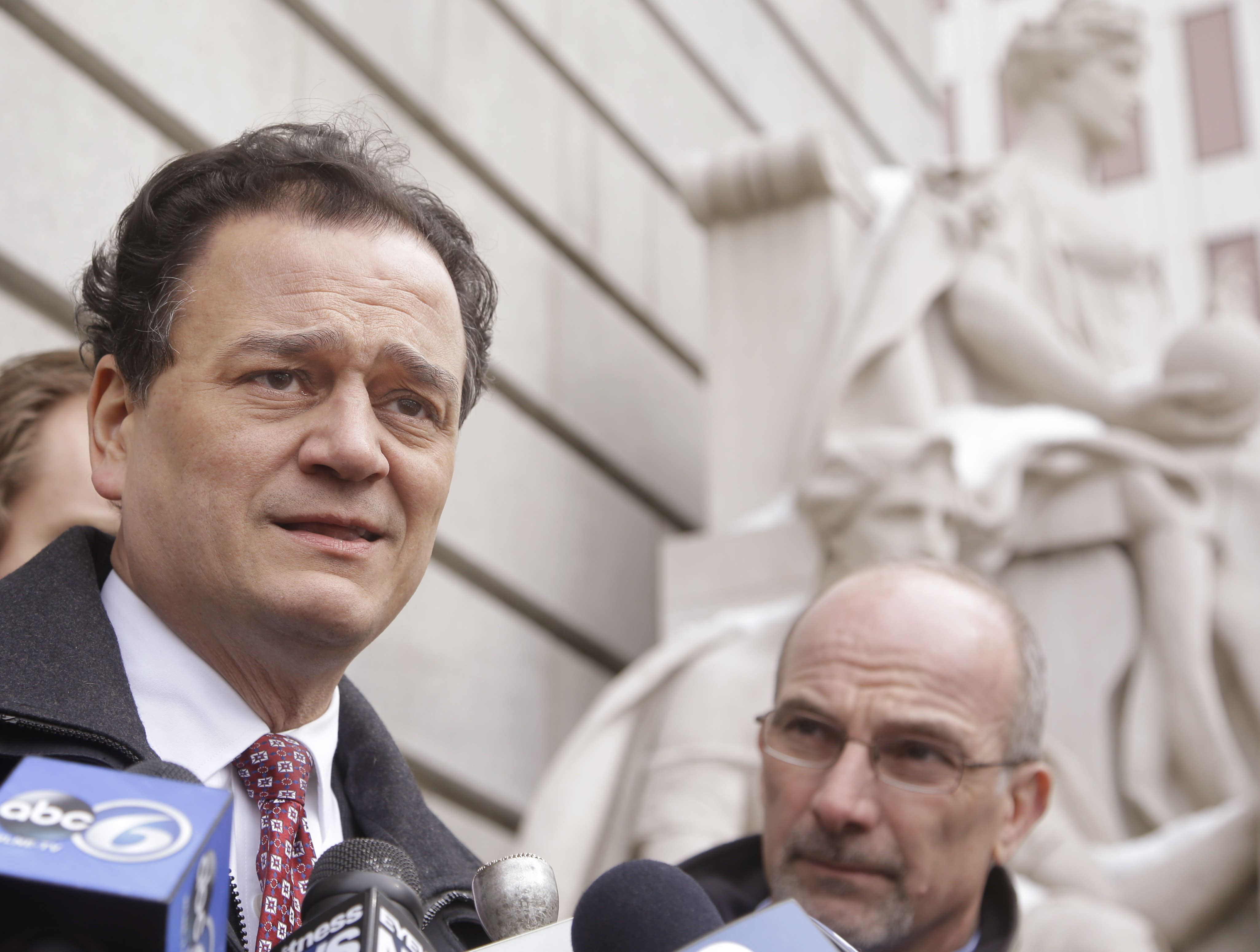 Ex-Rhode Island Speaker Fox pleads guilty to federal charges