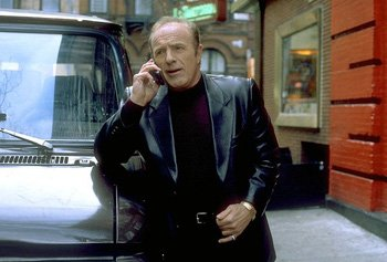 James Caan as Frank in Mickey Blue Eyes