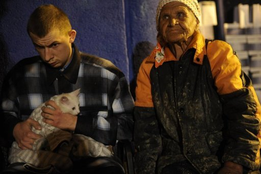 <p>Victims of the flood rest in a temporary shelter in Krymsk. The death toll from severe flash floods in Russia's southern Krasnodar region climbed to 141 people from 134 overnight as officials discovered more bodies, a police spokesman said Sunday.</p>