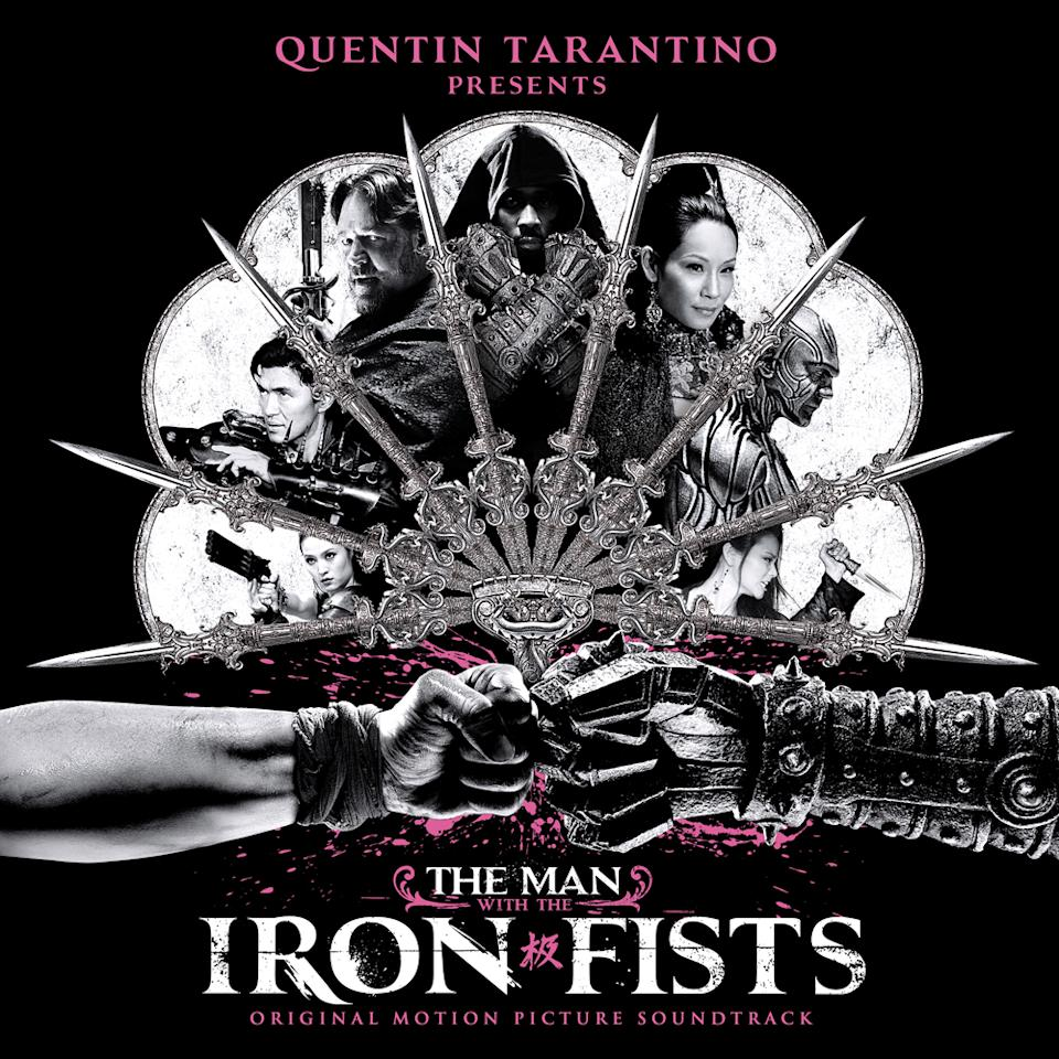 "This CD cover image released by Soul Temple Entertainment shows ""The Man with the Iron Fists,"" with songs by various artists from the original motion picture soundtrack. (AP Photo/Soul Temple Entertainment)"