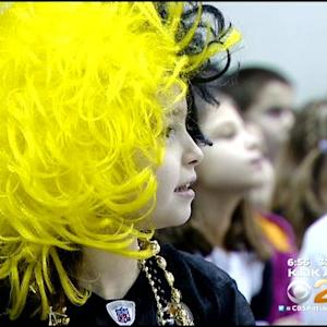 Steelers' Beachum Kicks Off New Breakfast Program At Aiken Elementary