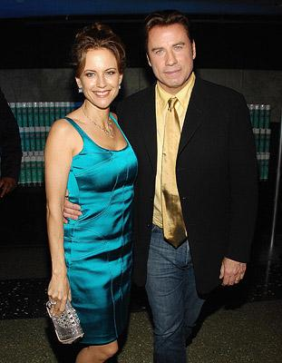 Kelly Preston and John Travolta at the New York premiere of New Line Cinemas' Hairspray