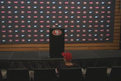 49ers quarterback Blaine Gabbert had a press conference and no one showed up