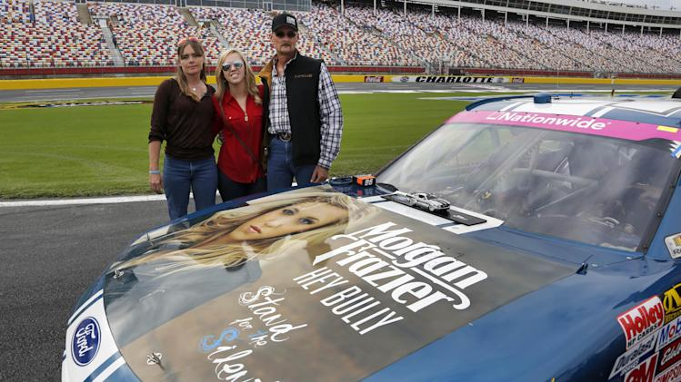 Anti-bullying message featured in Nationwide race