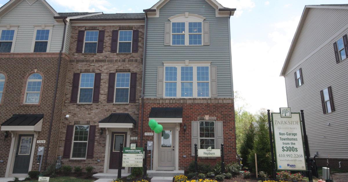 Best-Selling New Townhomes in Hanover