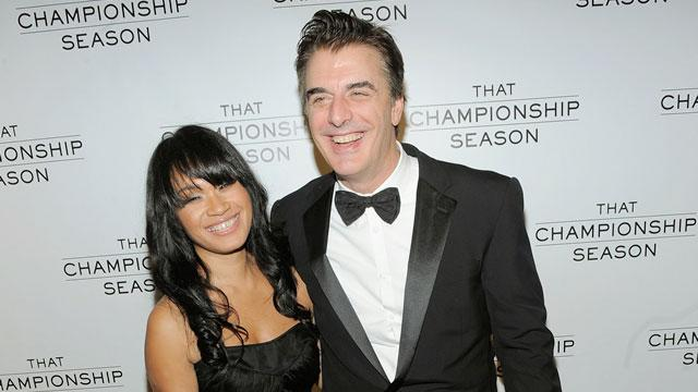 Chris Noth Ties the Knot