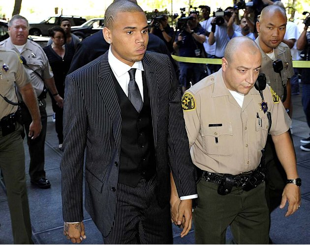 Brown Chris Court Sentence