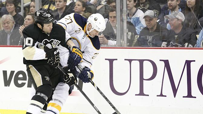 NHL: Buffalo Sabres at Pittsburgh Penguins